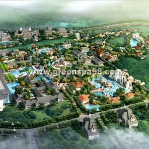 Hot Spring Resort Coonceptual Design pictures & photos