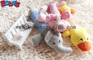 "7.9""Plush Animal Pet Toy in Longer Body with Squeaker for Dog Cat Bosw1067/20cm pictures & photos"