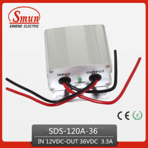 120W 12VDC-36VDC 3.3A Power Supply Inverter and Converter pictures & photos