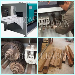 Plate Cutting Electric Multi Blade Wood Saw Machine pictures & photos