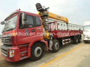 8*4 LHD Drive 12 Ton Truck with Crane pictures & photos
