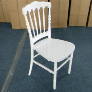 White Resin Napoleon Chair in Resin pictures & photos