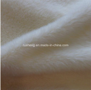 Polyester Flat Yarn for Polyester Velboa Fabric pictures & photos
