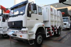 Best Price HOWO Garbage Truck of 16-17m3 pictures & photos
