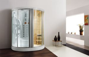 Whirlpool Steam Shower Room (BA-Z608) pictures & photos