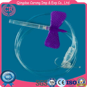 Disposable Sterile Luer Slip Medical Needle Scalp Vein Set pictures & photos