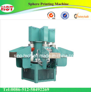 4 Color PVC Ball Printing Machine pictures & photos