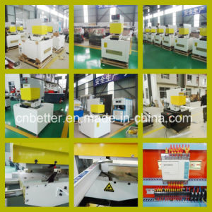 PVC Window and Door Frame Making Machine PVC Door Window Machine UPVC Profile Welding Machine