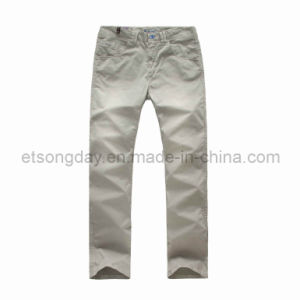 Gray Outwear Cotton Spandex Men′s Trousers (COCH-1404) pictures & photos