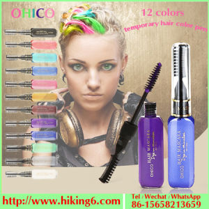 Dye Hair Brush 12 Colors, Dye Hair Pen, Temporary Hair Dye Pen pictures & photos