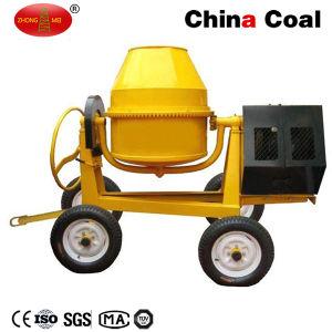 4 Wheels Portable Horizontal Concrete Mixer Machine pictures & photos