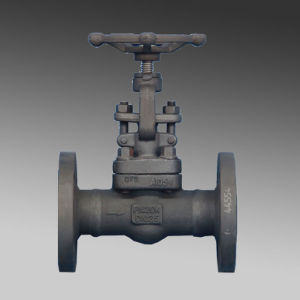 Flange Forged Steel Hard Seat Gate Valve pictures & photos
