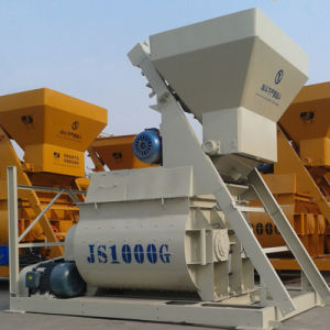 Twin Shaft Concrete Mixer, Compulsory Concrete Mixer (Js1000) pictures & photos