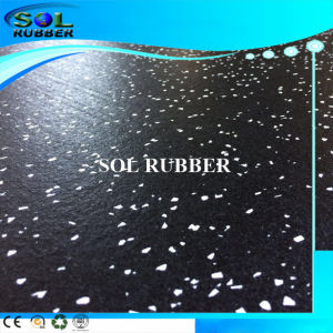High Quality Fire Resistant Gym Fitness Rubber Flooring pictures & photos