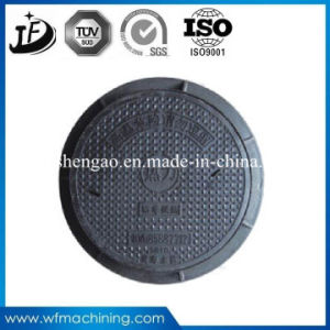 Cast Iron Resin Casting Manhole Cover of Sand Casting Process pictures & photos