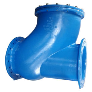 Dn600 Double Flange Ductile Iron Ball Check Valve pictures & photos