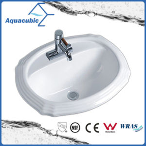 Bathroom Basin Above Counter Ceramic Sink (ACB012) pictures & photos