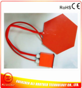 Hexagon 3D Printer Heated Bed Silicone Rubber Heater pictures & photos