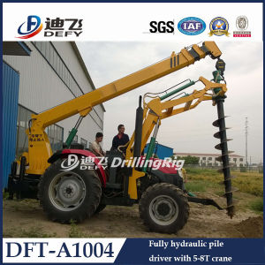 Power Pole Earth Auger Drilling Machine pictures & photos