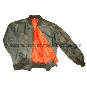 Military Us Ma-1 Flight Jacket pictures & photos