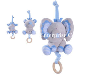 Factory Supply New Design of Baby Stuffed Plush Musical Movement Toy pictures & photos