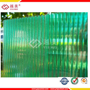 Green Polycarbonate Hollow Sheets for Roofing Ceiling pictures & photos