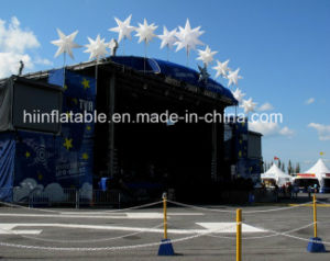Magic Colorful Inflatable Tube/Lighting Tube/Event Decoration/LED Decoration Inflatable Star pictures & photos