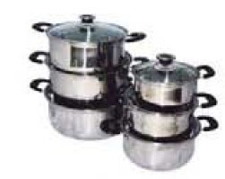 Cheap Cookware Stainless Steel 6PCS pictures & photos