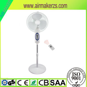 "16"" Stepless Speed Switch Rechargeable Emergency Solar Fan with Remote Controller pictures & photos"
