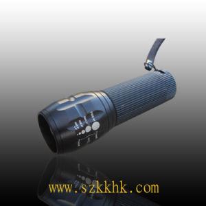CREE LED Zoomable 3 Mode 200 Lumen Aluminum Flashlight