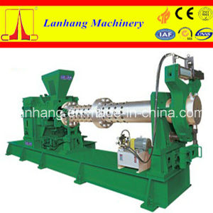 ISO9001 and Low Consumption Cold Feeding Single Screw Rubber Extruder pictures & photos