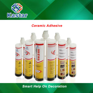 Easy Operation Ceramic Adhesive Glue with Good Gloss pictures & photos