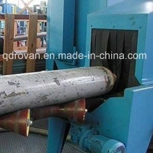 Pass Throgh Type Shot Blastiing Machine for Cylinder Cleaning