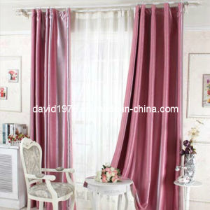 Thermal Insulated Jacquard Blackout Pinch Pleat Curtain (SZSMEBP039)