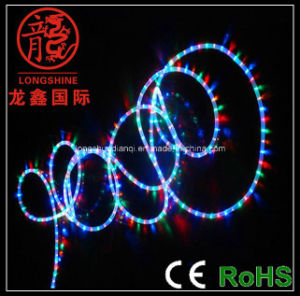 LED Decoration Rope Light 3 Wire Color Change for Christmas pictures & photos