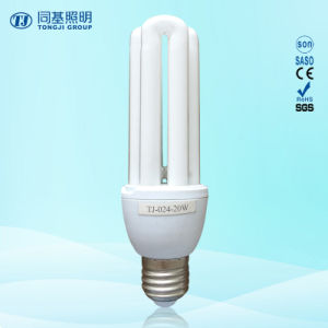 CFL 15W 18W 23W 2u 3u Shape 3000h E27/B22 220-240V Energy Saving Light Bulb pictures & photos