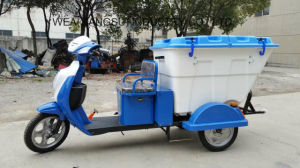 2017 New Design Fashion Electric Tricycle for Collecting Garbage pictures & photos