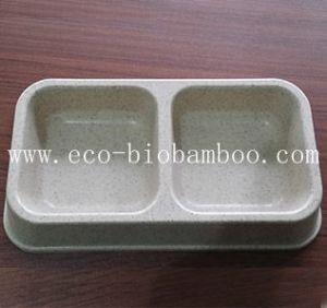 Bamboo Fiber Pet Supply Basin (BC-PE6006) pictures & photos