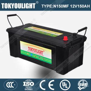 JIS Standard Maintenance Free Truck Battery with N150mf 12V150ah