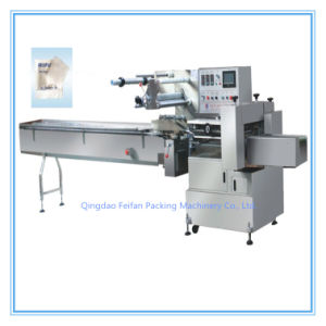 Servo Motor Control Full Automatic Alcohol Swab Pad Flow Packing/ Packaging Machine pictures & photos