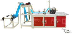 T-Shirt & Flat Plastic Bag Making Machine for PE pictures & photos