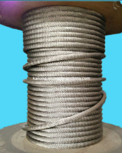 Dia. 21.5mm; 19*37; AISI304- Stainless Steel Wire Rope pictures & photos