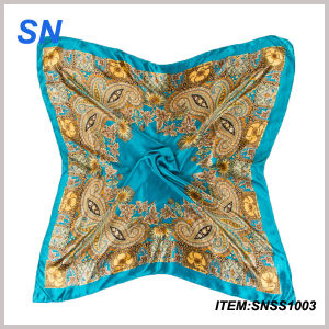 2015 Newest Fashionable Silk Scarf Wholesale China pictures & photos