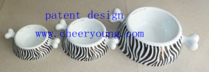 Porcelain Pet Bowl (CY-D1007) Inventory Clearance pictures & photos
