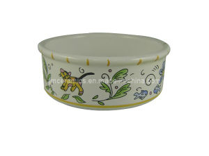 Ceramic Pet Cat Bowl (CZJM3130) pictures & photos