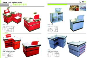 Low Price Supermarket Cash Table with Good Quality pictures & photos