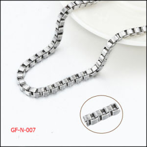 Necklace Accessories Stainless Steel Box Chain pictures & photos