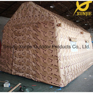 Xunjie 3mx5m Luxury 10 Person Large Inflatable Military Tent