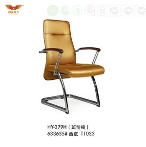 High Quality Office Leather Chair with Armrest (HY-379H) pictures & photos