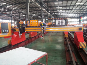 Heavy Duty CNC Cutting Machine pictures & photos